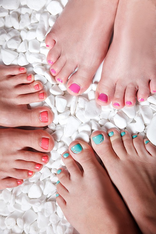 Teen Pedicure Stock Image Image Of Brunette Makeup: Mini Pedicure (or Manicure) & Chocolate Facial Teen Party