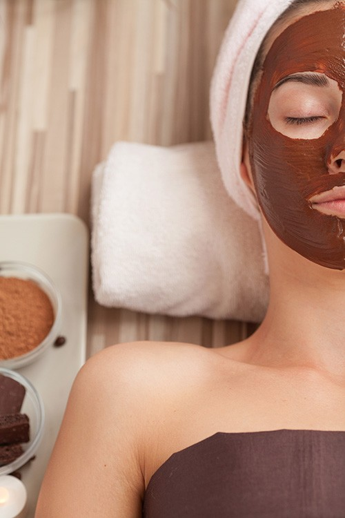Organic Chocolate Facial Teen Party (8 girls)