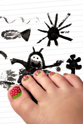 Mini Manicure or Pedicure Princess Party (8 girls)
