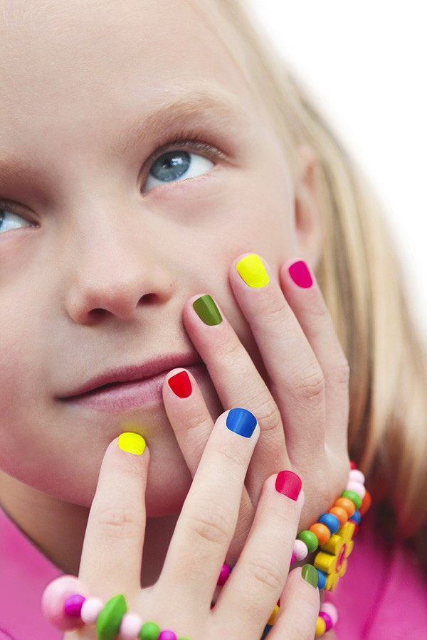 Mini Manicure (or Pedicure) & Sparkle Makeup Princess Party (5 girls)