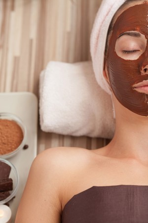Organic Chocolate Facial Teen Party (8 girls)