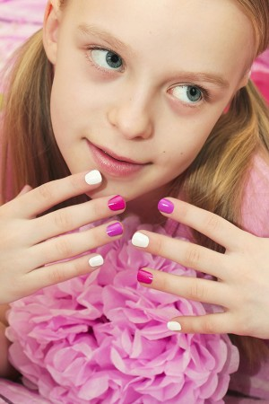 Mini Manicure or Pedicure Princess Party (8 girls)