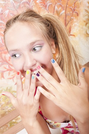Mini Manicure or Mini Pedicure Teen Party (8 girls)