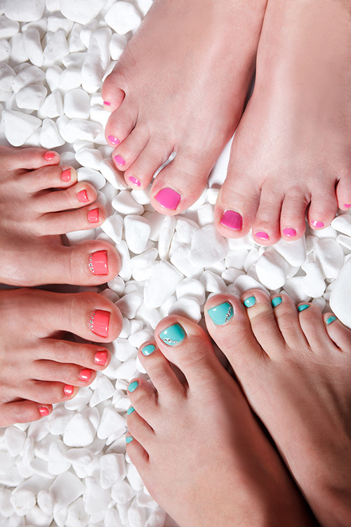 Mini Pedicure (or Mini Manicure) & Chocolate Facial Party